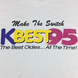 "Vintage KBEST 95 Radio Station ""The Best Oldies"